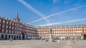 Αρχιτεκτονική της Μαδρίτης, η πρωτεύουσα της Ισπανίας Στοκ φωτογραφία με δικαίωμα ελεύθερης χρήσης
