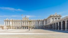 Αρχιτεκτονική της Μαδρίτης, η πρωτεύουσα της Ισπανίας Στοκ εικόνα με δικαίωμα ελεύθερης χρήσης