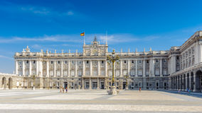 Αρχιτεκτονική της Μαδρίτης, η πρωτεύουσα της Ισπανίας Στοκ Φωτογραφίες