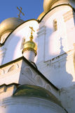 Αρχιτεκτονική της μονής Novodevichy στη Μόσχα Εκκλησία εικονιδίων του Σμολένσκ Στοκ φωτογραφία με δικαίωμα ελεύθερης χρήσης