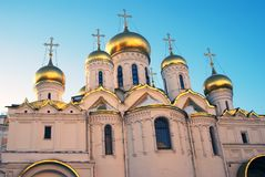 Αρχιτεκτονική της Μόσχας Κρεμλίνο Annunciation εκκλησία Στοκ Εικόνες