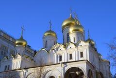 Αρχιτεκτονική της Μόσχας Κρεμλίνο Annunciation εκκλησία Στοκ φωτογραφία με δικαίωμα ελεύθερης χρήσης