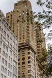 Αρχιτεκτονική της Νέας Υόρκης, ΗΠΑ Στοκ εικόνες με δικαίωμα ελεύθερης χρήσης