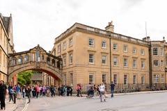 Αρχιτεκτονική της Οξφόρδης, Αγγλία, Ηνωμένο Βασίλειο Στοκ φωτογραφίες με δικαίωμα ελεύθερης χρήσης