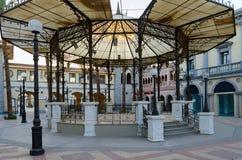Αρχιτεκτονική της περιοχής επιχειρήσεων και αγορών και ψυχαγωγίας του IL Mercato σε Hadaba, Sheikh Sharm EL, Αίγυπτος Στοκ Εικόνα