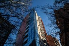 Αρχιτεκτονική της πόλης Στοκ εικόνα με δικαίωμα ελεύθερης χρήσης