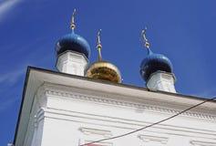Αρχιτεκτονική της πόλης Ples, Ρωσία Εκκλησία Αγίου Barbara Στοκ Εικόνες