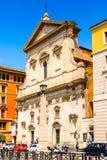 Αρχιτεκτονική της Ρώμης, Ιταλία Στοκ Φωτογραφία