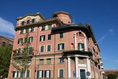 Αρχιτεκτονική της Ρώμης Στοκ Φωτογραφία