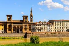 Αρχιτεκτονική της Φλωρεντίας, Ιταλία Στοκ Φωτογραφίες