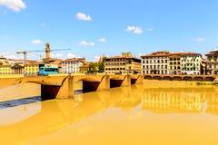 Αρχιτεκτονική της Φλωρεντίας, Ιταλία Στοκ Εικόνες