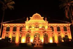 Αρχιτεκτονική τοπίων νύχτας στοκ φωτογραφία με δικαίωμα ελεύθερης χρήσης