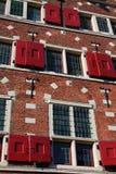 αρχιτεκτονική του Άμστε&rh Στοκ Φωτογραφία