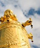 Αρχιτεκτονική του θιβετιανού μοναστηριού songzanlin Στοκ Φωτογραφίες