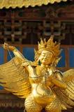 Αρχιτεκτονική του θιβετιανού μοναστηριού songzanlin Στοκ εικόνα με δικαίωμα ελεύθερης χρήσης