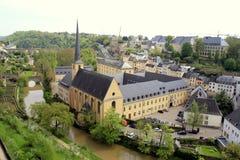 Αρχιτεκτονική του Λουξεμβούργου Στοκ Εικόνες