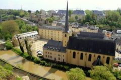 Αρχιτεκτονική του Λουξεμβούργου Στοκ φωτογραφίες με δικαίωμα ελεύθερης χρήσης