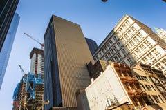 Αρχιτεκτονική του Μανχάταν, Νέα Υόρκη, ΗΠΑ Στοκ Εικόνες
