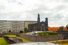 Αρχιτεκτονική του Μεξικού DF Στοκ Φωτογραφία