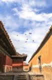 Αρχιτεκτονική του μοναστηριού στη Μογγολία Στοκ Εικόνες