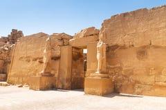 Αρχιτεκτονική του ναού Karnak σε Luxor Στοκ εικόνες με δικαίωμα ελεύθερης χρήσης