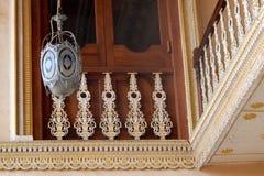 Αρχιτεκτονική του παλατιού Chowmahela, το χτισμένο το 1880 s, από Nizams του Hyderabad, Ινδία Στοκ φωτογραφία με δικαίωμα ελεύθερης χρήσης