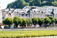 Αρχιτεκτονική του Σάλτζμπουργκ στοκ εικόνες