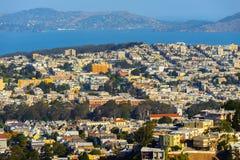 Αρχιτεκτονική του Σαν Φρανσίσκο, ΗΠΑ στοκ εικόνα