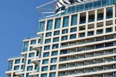 Αρχιτεκτονική του Τελ Αβίβ Στοκ Φωτογραφία
