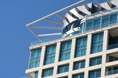Αρχιτεκτονική του Τελ Αβίβ Στοκ φωτογραφία με δικαίωμα ελεύθερης χρήσης
