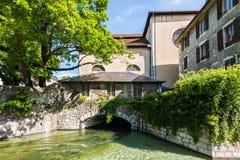 Αρχιτεκτονική του Annecy, Γαλλία, Ευρώπη Στοκ εικόνες με δικαίωμα ελεύθερης χρήσης