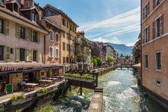 Αρχιτεκτονική του Annecy, Γαλλία, Ευρώπη Στοκ Εικόνα