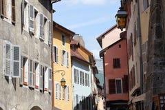 Αρχιτεκτονική του Annecy, Γαλλία Στοκ φωτογραφίες με δικαίωμα ελεύθερης χρήσης