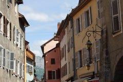 Αρχιτεκτονική του Annecy, Γαλλία Στοκ εικόνα με δικαίωμα ελεύθερης χρήσης