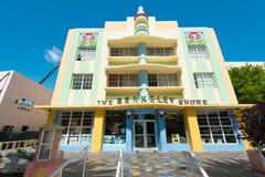 Αρχιτεκτονική του Art Deco στο ωκεάνιο Drive στη νότια παραλία, Μαϊάμι Στοκ φωτογραφία με δικαίωμα ελεύθερης χρήσης