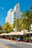 Αρχιτεκτονική του Art Deco στο ωκεάνιο Drive στη νότια παραλία, Μαϊάμι Στοκ εικόνες με δικαίωμα ελεύθερης χρήσης