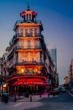 Αρχιτεκτονική των Βρυξελλών - πανέμορφη και ζωηρόχρωμη Στοκ Εικόνες