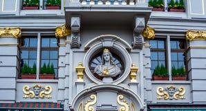 Αρχιτεκτονική των Βρυξελλών Χαλαρώστε - είστε στις Βρυξέλλες! Στοκ φωτογραφίες με δικαίωμα ελεύθερης χρήσης