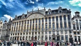 Αρχιτεκτονική των Βρυξελλών Στοκ Φωτογραφίες