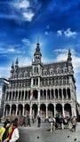 Αρχιτεκτονική των Βρυξελλών στοκ φωτογραφία