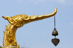 Αρχιτεκτονική των ναών στην Ταϊλάνδη στοκ εικόνα με δικαίωμα ελεύθερης χρήσης