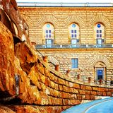 Αρχιτεκτονική φαντασία πετρών στοκ φωτογραφίες με δικαίωμα ελεύθερης χρήσης