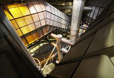 αρχιτεκτονική φουτουρ&i Στοκ Φωτογραφίες