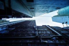 αρχιτεκτονική Χογκ Κογκ Στοκ εικόνες με δικαίωμα ελεύθερης χρήσης