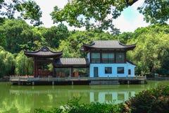 Αρχιτεκτονική ύφους κήπων σε Suzhou Στοκ φωτογραφία με δικαίωμα ελεύθερης χρήσης