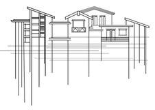 αρχιτεκτονική Στοκ εικόνα με δικαίωμα ελεύθερης χρήσης