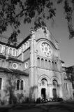 Αρχιτεκτονική Abtract του καθεδρικού ναού BA Duc Στοκ Εικόνες