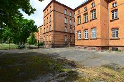 Αρχιτεκτονική Alsacian στη Γαλλία Στοκ φωτογραφίες με δικαίωμα ελεύθερης χρήσης