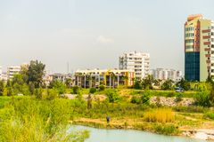 Αρχιτεκτονική Antalya, Τουρκία Στοκ φωτογραφίες με δικαίωμα ελεύθερης χρήσης