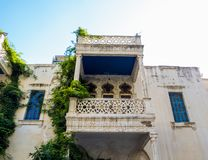 Αρχιτεκτονική Arabesque στη Βηρυττό, Λίβανος στοκ εικόνα με δικαίωμα ελεύθερης χρήσης